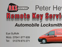 Remote Key Services Business Card